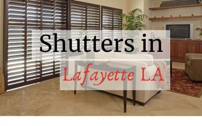 Mistakes that (almost) Everyone makes with Shutters in Lafayette LA